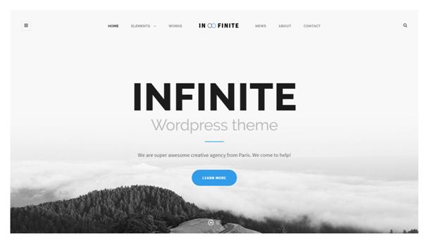 infinity wordpress theme