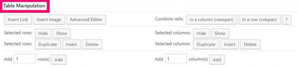 how to add links to your wordpress table