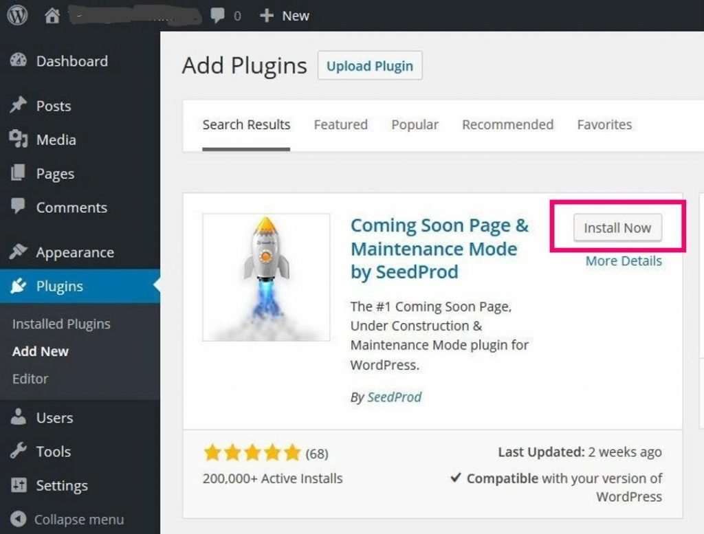 add plugin for maintenance mode